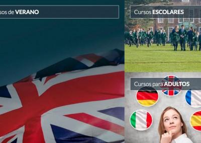 Nueva web con buscador de cursos de idiomas