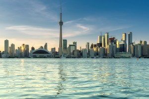 Beautiful Toronto skyline - Toronto, Ontario, Canada.