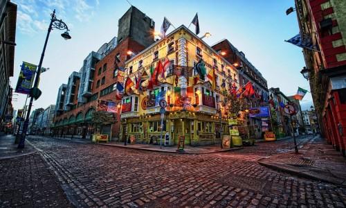 DUBLIN curso de ingles en Irlanda BUS idiomas